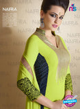 AZ 2121 Green Georgette  Party Wear Suit - Salwar Suits - NEW SHOP