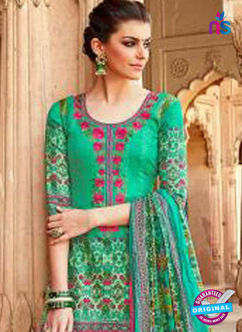 Levisha 1013 Green Formal Cotton Suit