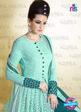 AZ 2125 Sea Green  Net Party Wear Suit - Salwar Suits - NEW SHOP