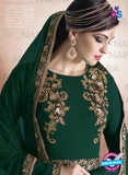 AZ 2127 Green Georgette  Party Wear Suit - Salwar Suits - NEW SHOP