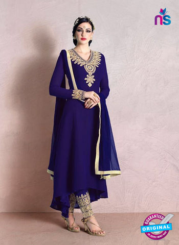 Buy Nakkashi 1017 A Blue Georgette  Party Wear Suit Online