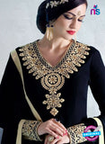 AZ 3441 Black Georgette Party Wear Suit - Salwar Suits - NEW SHOP