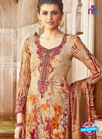 Levisha 1018 Beige Formal Cotton Suit