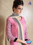 Nakkashi 1019 A Pink Georgette Party Wear Suit Online