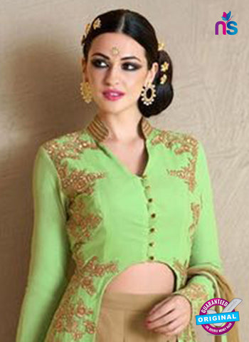 Nakkashi 1020 B Green Georgette Party Wear Suit Online