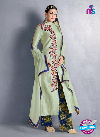 Nakkashi 1021 B Green Bhagalpuri Party Wear Suit