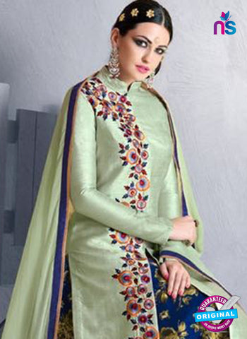 Nakkashi 1021 B Green Bhagalpuri Party Wear Suit Online