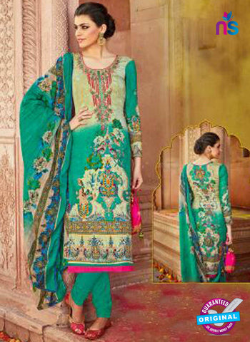 Levisha 1021 Sea Green Formal Cotton Suit