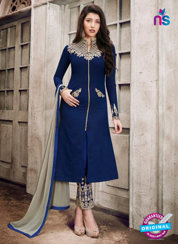Nairra 1028 A Blue Party Wear Suit