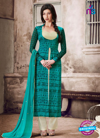 Nairra 1030 A Sea Green Party Wear Suit