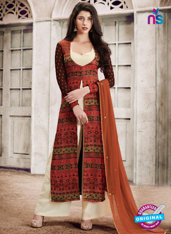 Nairra 1030 B Multicolor Party Wear Suit