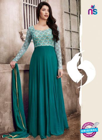 Nairra 1033 A Sea Green Designer Gown