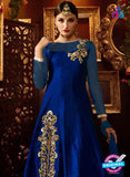 AZ 2259 Blue and Beige Embroidery Silk Party Wear Suit - Salwar Suits - NEW SHOP