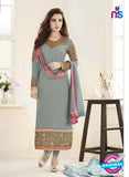 Fiona103  Grey Color Georgette Designer Suit