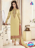 Fiona106  Yellow Color Georgette Designer Suit