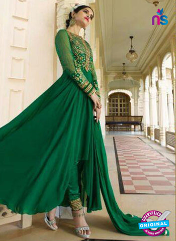 AZ 5391 Green Designer Anarkali Suit