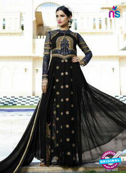 Leo Fashion 10706 B Black Indo Western Suit