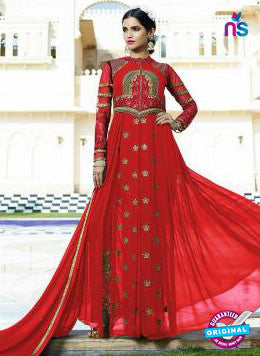Leo Fashion 10706 C Red Indo Western Suit