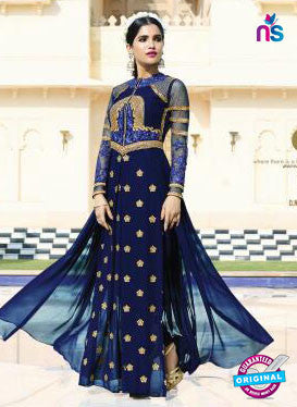Leo Fashion 10706 Blue Indo Western Suit