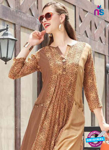 Sparrow 1074 Brown Indo Western Tunic