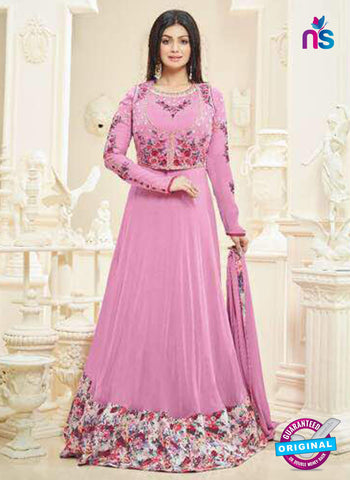 Aaray 107 Pink Anarkali Suit