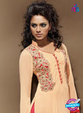 SC 14113 Peach Faux Georgette Party Wear Tunic Online