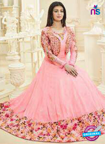 Aaray 108 Pink Anarkali Suit