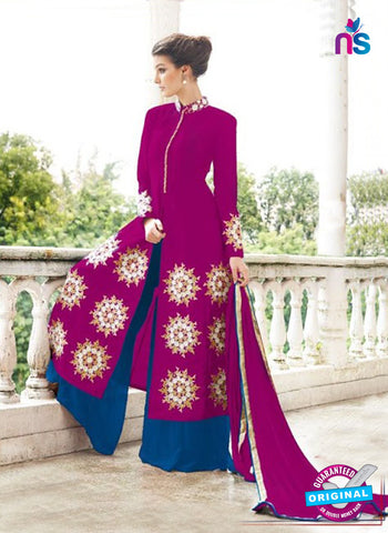 Gayatri 1097 Pink Raw Silk Party Wear Suit