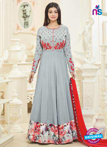 Aaray 109 Grey Anarkali Suit