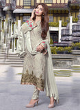 TM 10  Grey Color Georgette Designer Suit