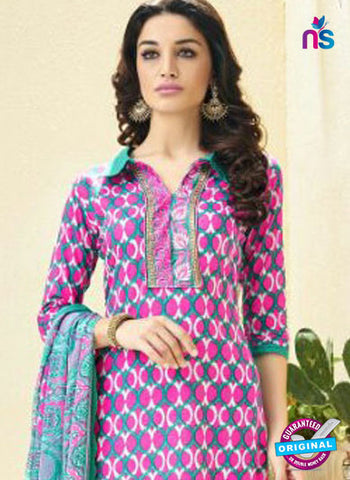 Ridham 11001 Pink Cotton Suit