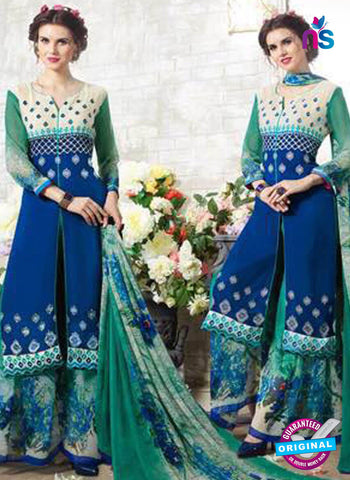 Kessi 11004 Blue Designer Plazo Suit