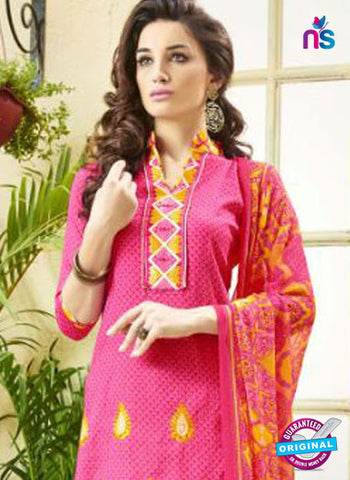 Ridham 11006 Pink Cotton Suit