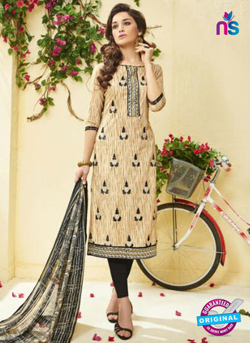 Ridham 11008 Beige Cotton Suit