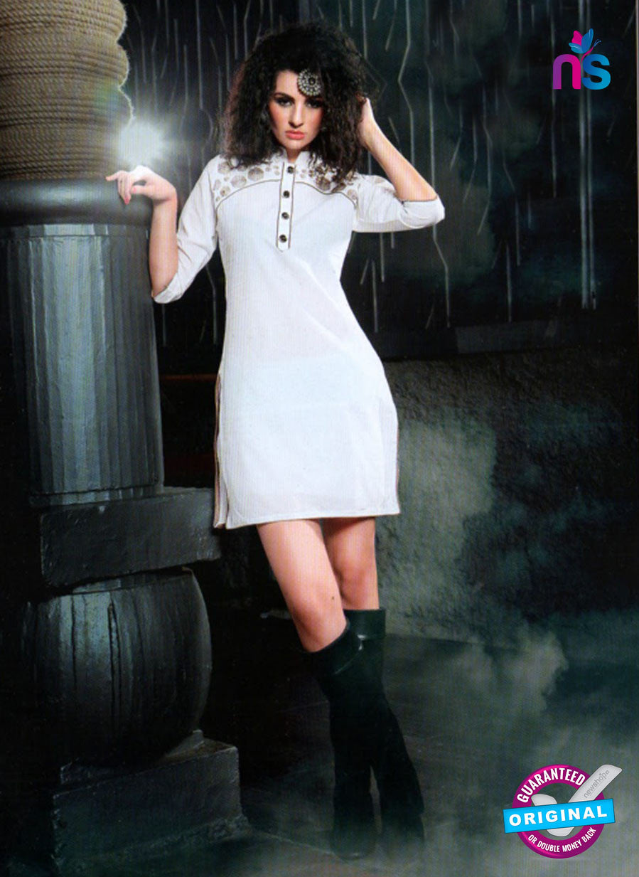 SC 13009 Grey Lawn Cotton Party Wear Kurti