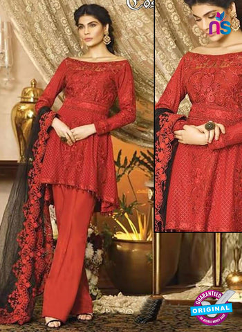 Cosmos1101 Red Designer Party Wear Suit