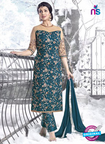 Sajawat 1102 Blue Party Wear Suit