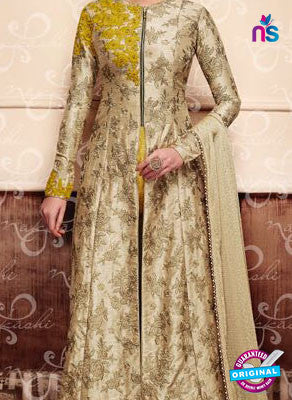 Nakkashi 11048 Beige Party Wear Suit
