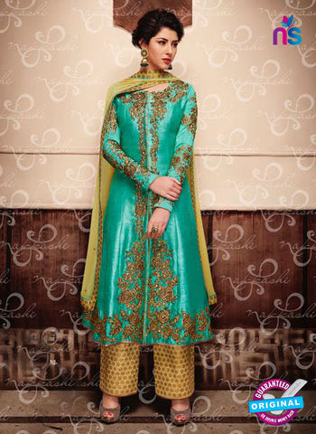 Nakkashi 11049 Sea Green Party Wear Suit