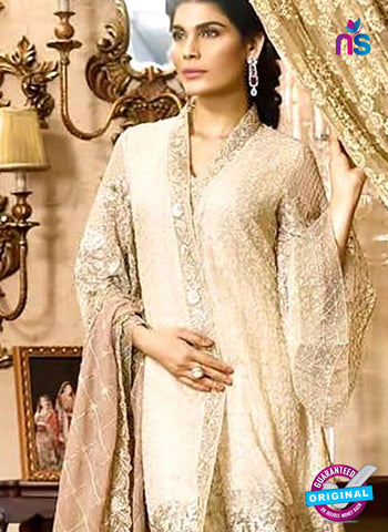 Cosmos 1106 Beige Designer Party Wear Suit