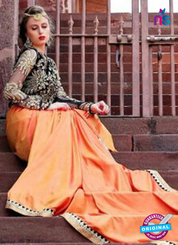 Reflection 1112 Peach Party Wear Saree