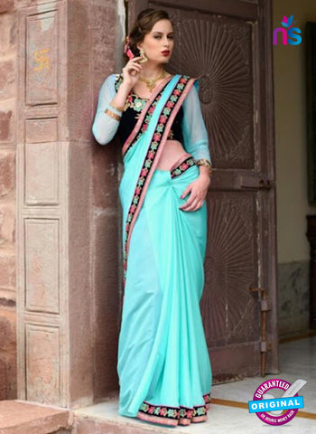 Reflection 1116 Sky Blue Party Wear Saree