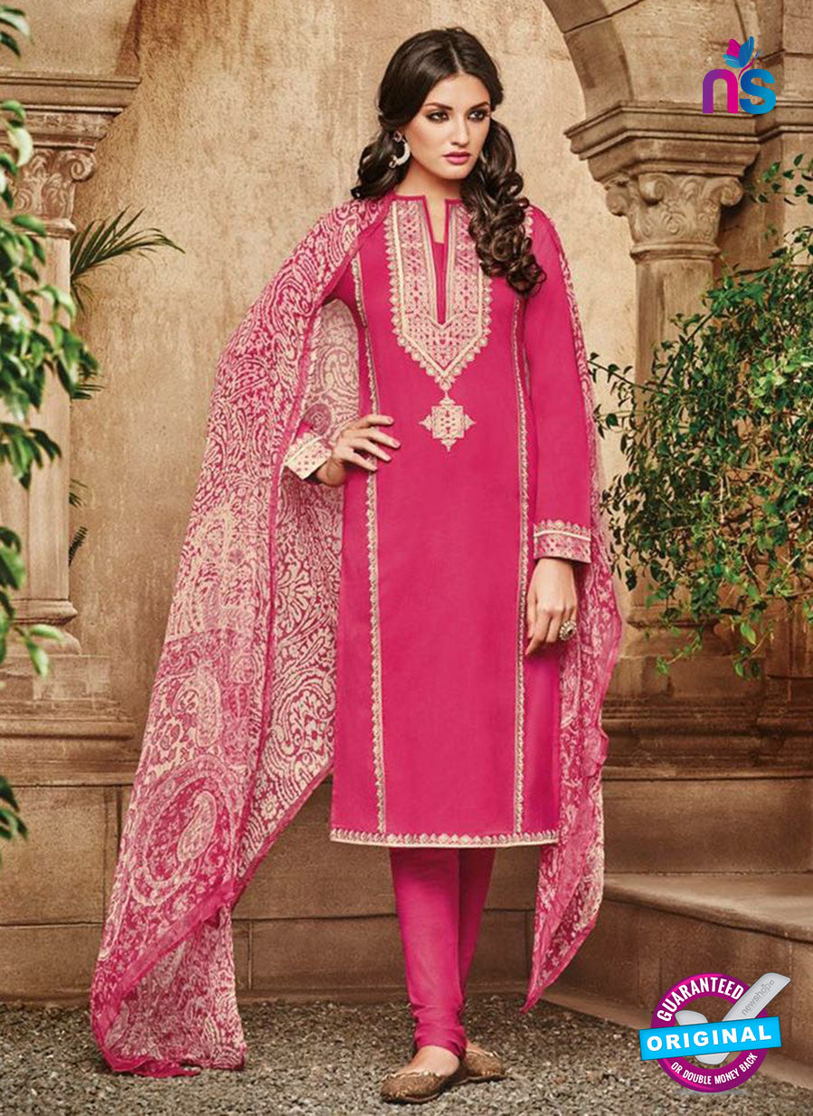 Omtex 1116 Pink Color Cotton Designer Suit