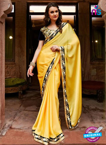 Reflection 1117 Yellow Party Wear Saree