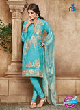 Omtex 1117 Blue Color Cotton Designer Suit