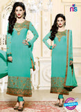 Fiona 11208 Green And Golden Straight Suit