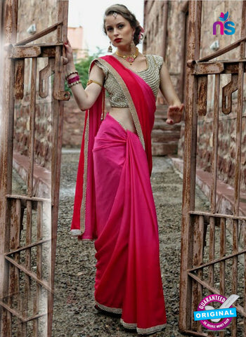 Reflection 1121 A Pink Party Wear Saree