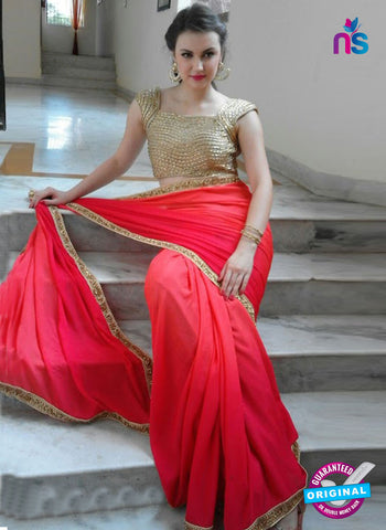 Reflection 1121 B Red Party Wear Saree