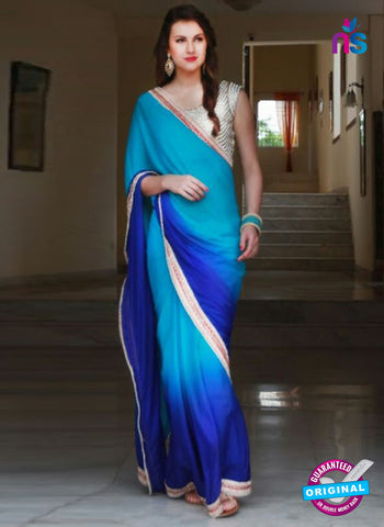 Reflection 1121 Blue Party Wear Saree