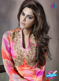 SC 14166 Multicolor Georgette Plazo Suit